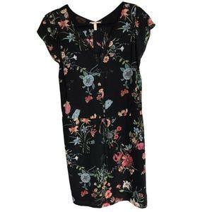 Rebecca Taylor Floral Silk Dress Size 0